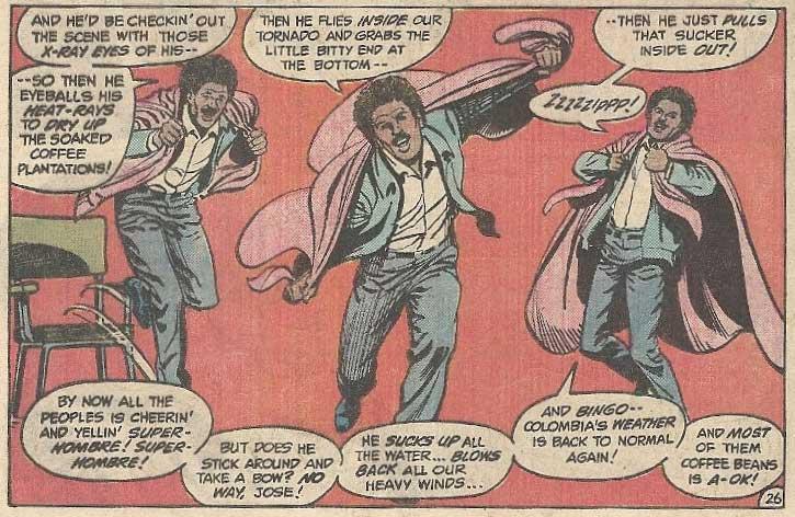 Superman III: The Comic Book Adaptation -- Gus