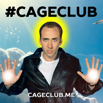 CageClub Cover