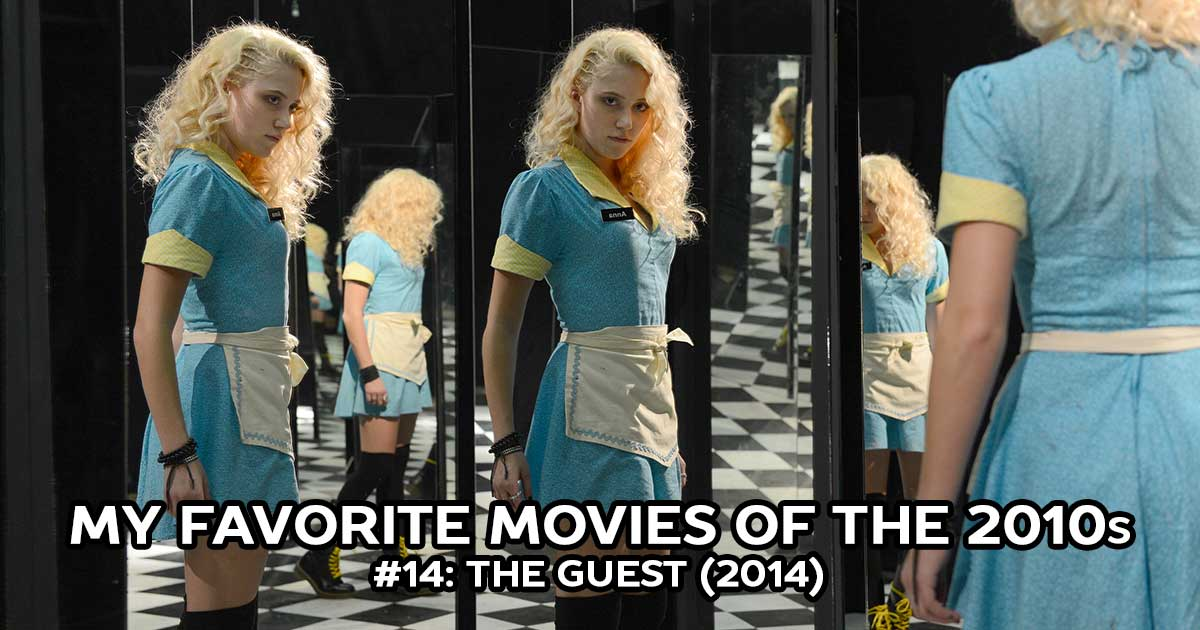 My Favorite Movies, #14: The Guest (2014)