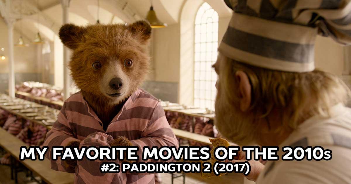 My Favorite Movies, #2: Paddington 2 (2017)