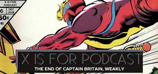 Captain Britain Part Deux: The End of Captain Britain, Weakly