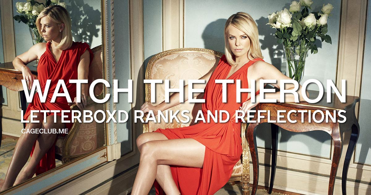 Ranking Charlize Theron's Films