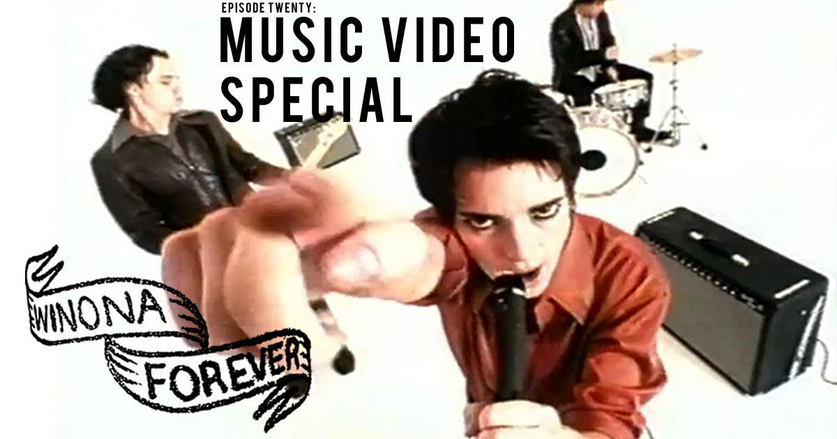 Winona Ryder Music Video Special