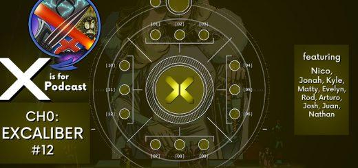 THIS IS X OF SWORDS -- Excalibur #12