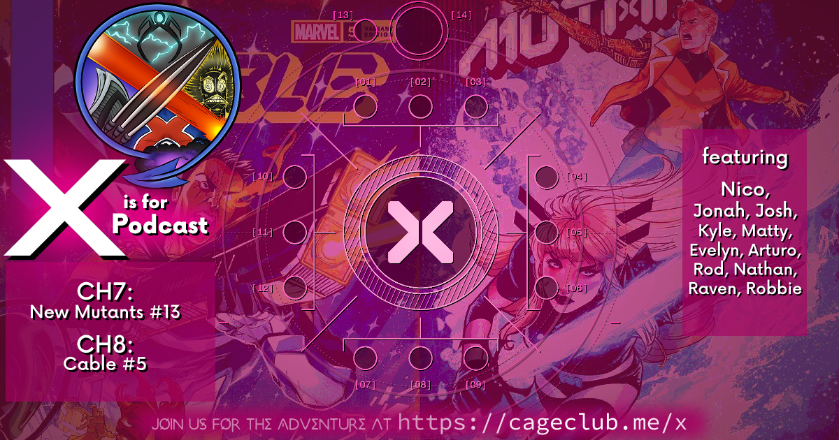 THIS IS X OF SWORDS -- New Mutants #13 & Cable #5