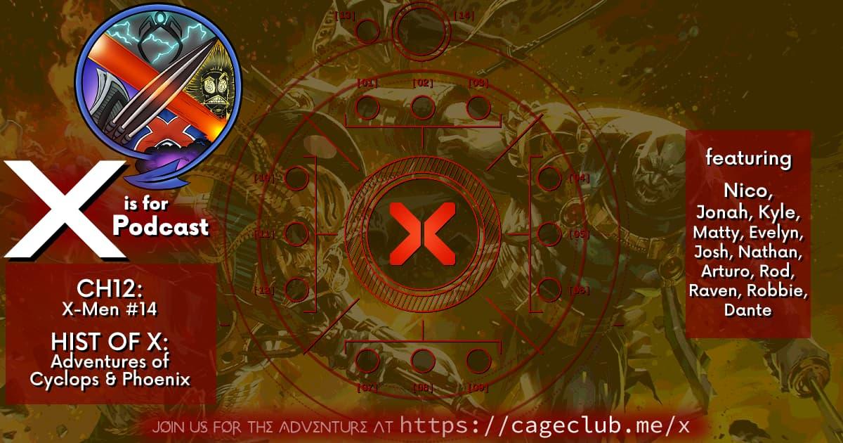 THIS IS X OF SWORDS -- Chapter 12: X-Men 14 & Nico & Josh Talk Apoc!
