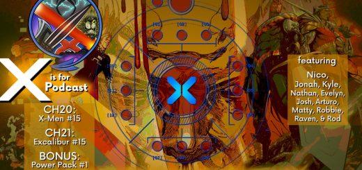 THIS IS X OF SWORDS -- X-Men 15 / Excalibur 15 / Power Pack 1