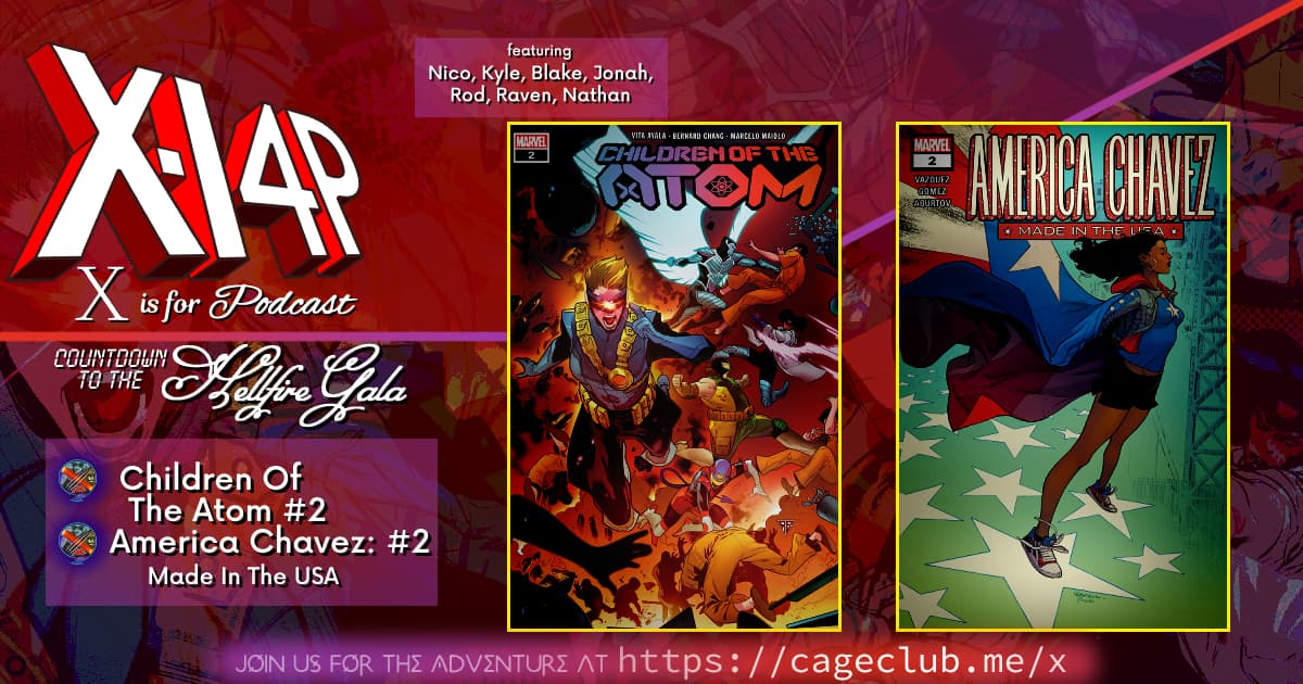 COUNTDOWN TO THE HELLFIRE GALA -- Children of the Atom & America Chavez!