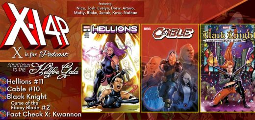 COUNTDOWN TO THE HELLFIRE GALA -- Hellions 11, Cable 10, Black Knight Curse Of The Ebony Blade 2!
