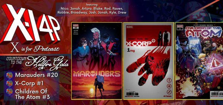 COUNTDOWN TO THE HELLFIRE GALA -- Marauders 20, X-Corp 1, Children Of The Atom 3!