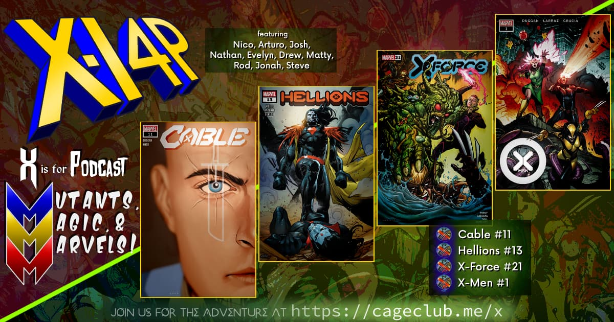 MUTANTS, MAGIC, &  MARVELS 002 -- Cable #11, Hellions #13, X-Force #21, X-Men #1