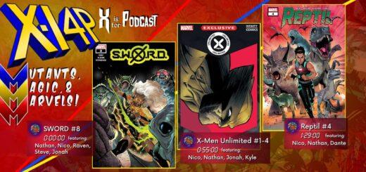 MUTANTS, MAGIC, & MARVELS 029 -- SWORD 8, X-Men Unlimited 1-4, Reptil 4!