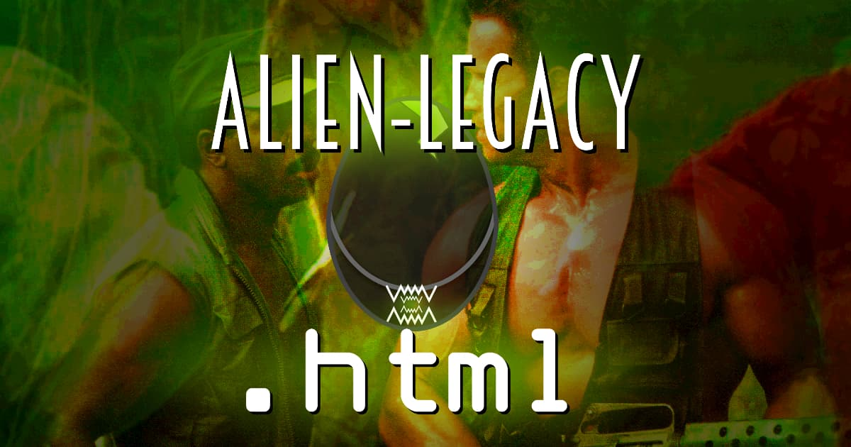 alienlegacy.html #058 – Predator (1987)