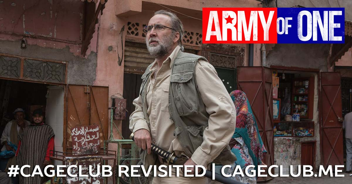 Army of One (2016) - #CageClub Revisited
