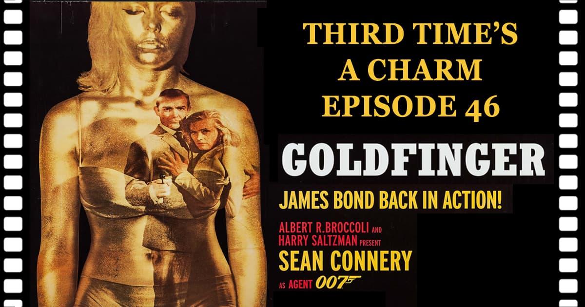 James Bond Goldfinger 1964