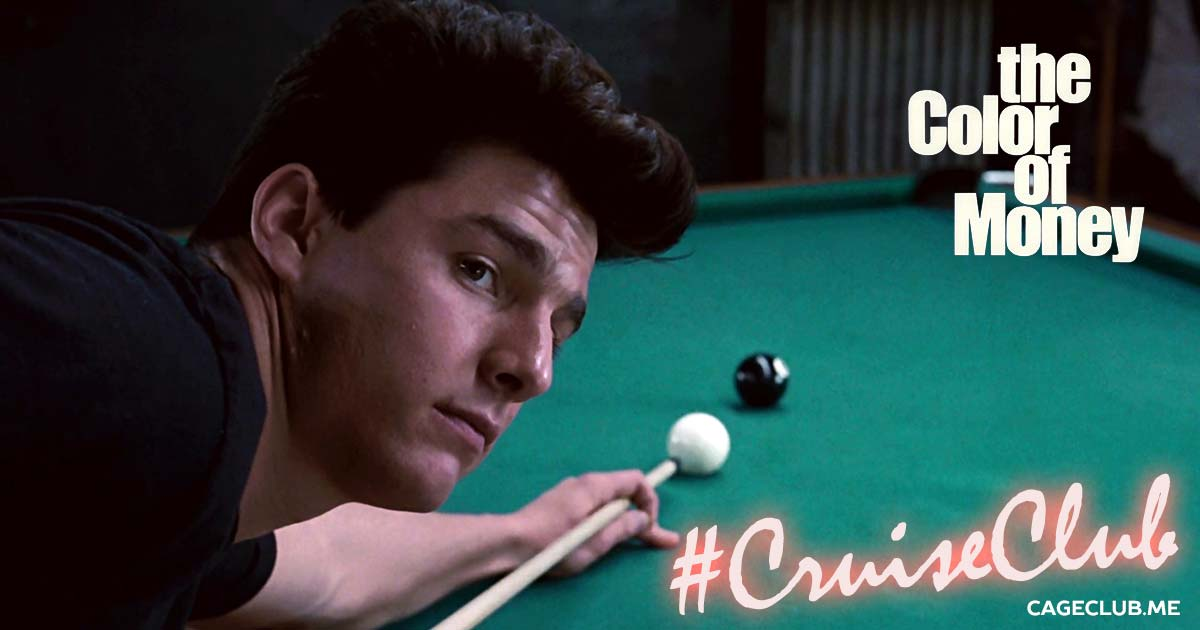 #CruiseClub #009 – The Color of Money (1986) - Tom Cruise