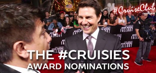 #CruiseClub #043 – The #Cruisies: The Tom Cruise Award Nominations