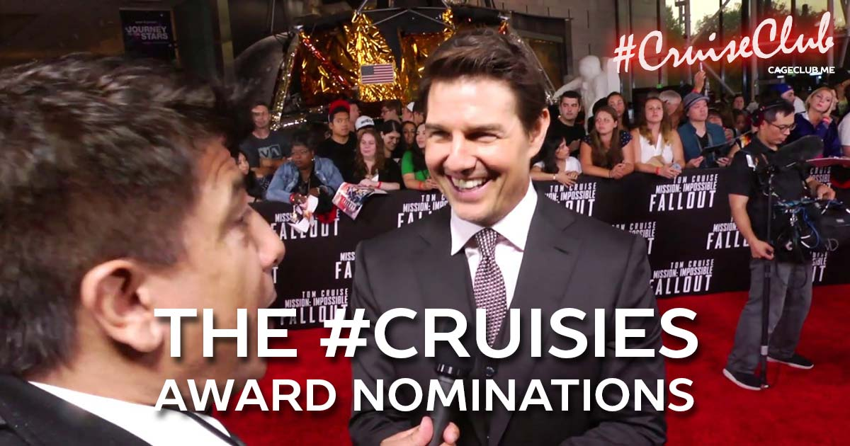 #CruiseClub #043 – The Cruisies: The Tom Cruise Award Nominations