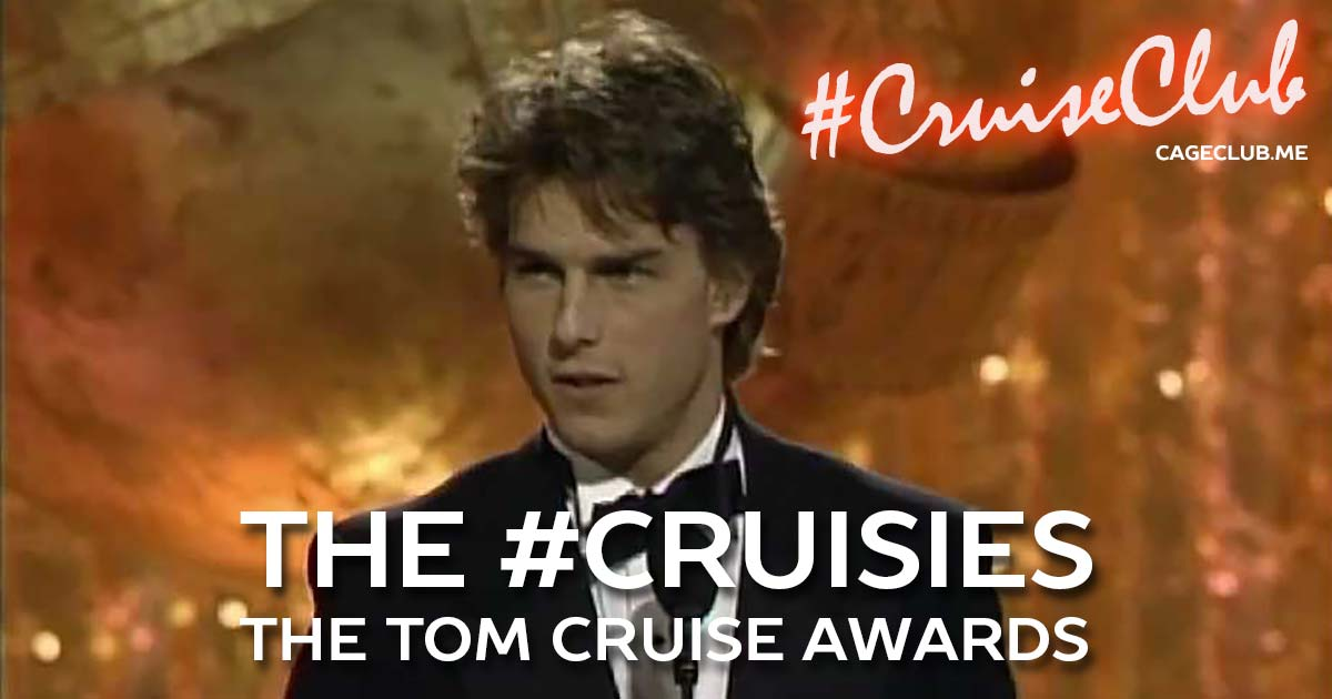 #CruiseClub #046 – The #Cruisies: The Tom Cruise Awards