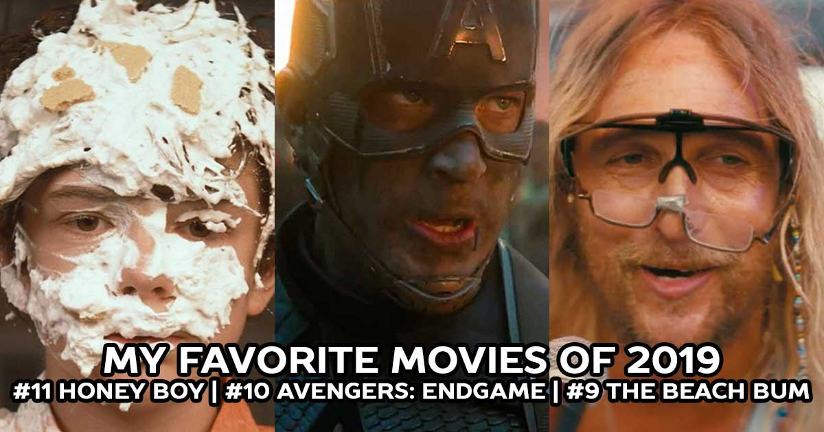The Best Movies of 2019: Honey Boy, Avengers: Endgame, The Beach Bum