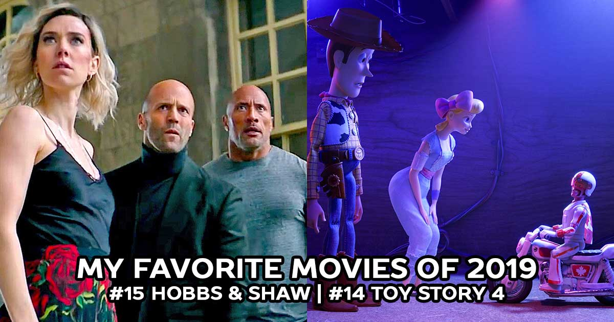 The Best Movies of 2019: Hobbs & Shaw, Toy Story 4