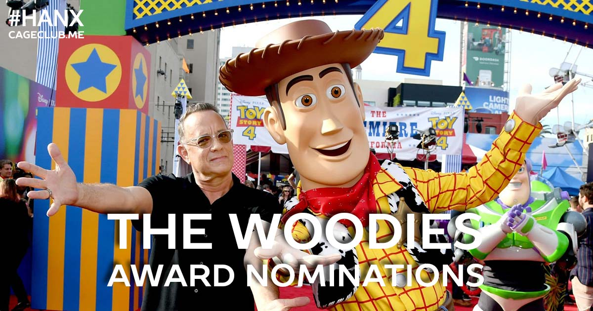 #HANX for the Memories #059 – The Woodies: The Tom Hanks Award Nominations