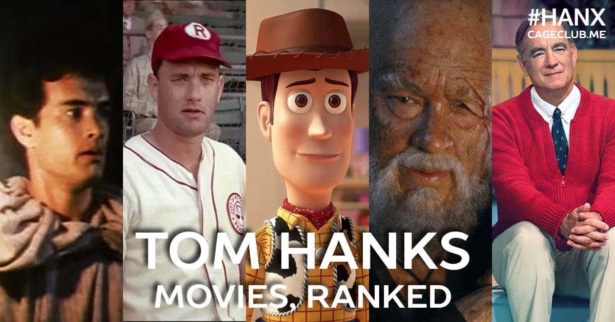 #HANX for the Memories #062 – Ranking Tom Hanks's Movies