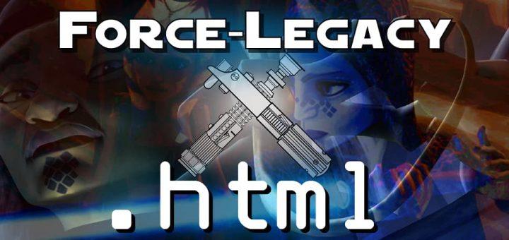 forcelegacy.html #092 – AvP, Yeerks, and Zombies: Clone Waaaah?