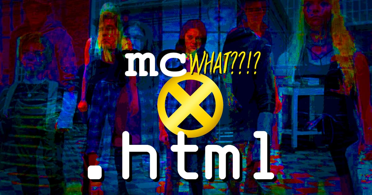.html #075 – Sta-- Nope! It's the New Mutants!