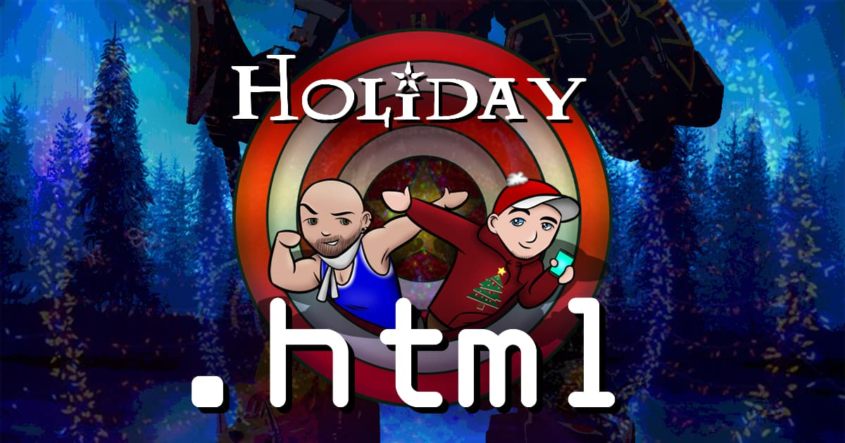 .html #071 – Holiday HTML Office Party! featuring Power Rangers!