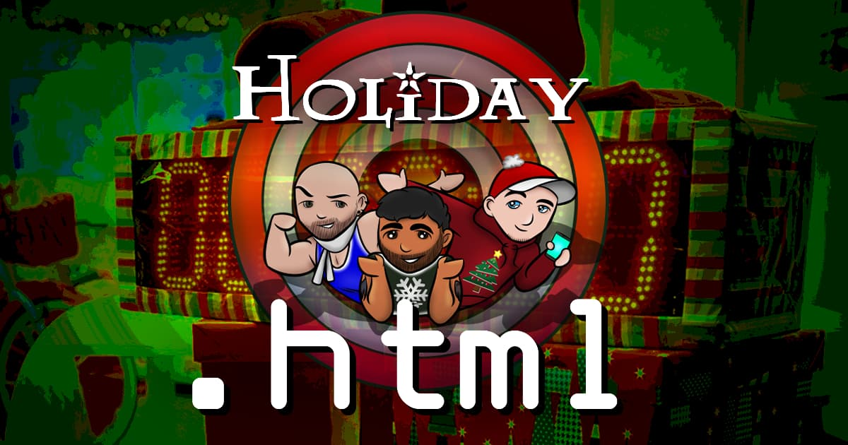 .html #073 – Holiday HTML Office Party #3! Wrap Battle (2019): Part 2