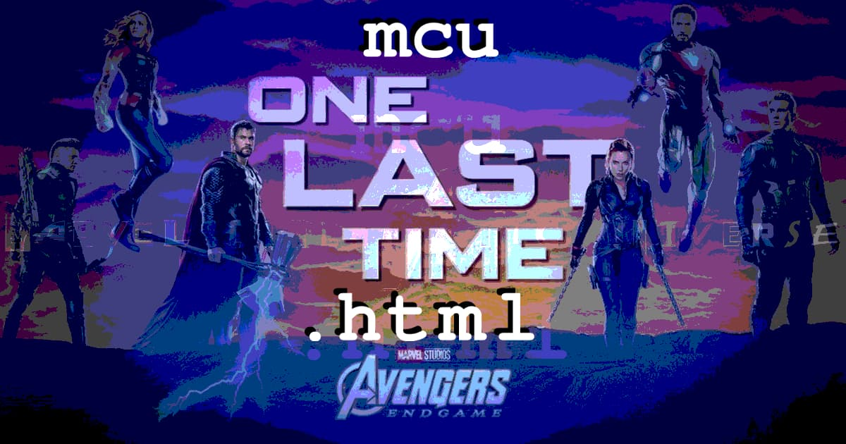 mcu.html #044 – MCU Reassembled Kickoff Party Good Times Family Episodibration