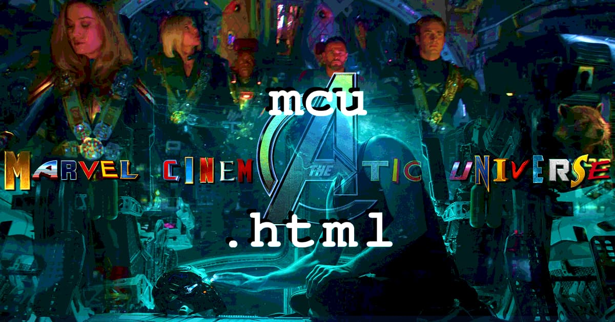 mcu.html #045 – Avengers: Endgame (2019): Part 1