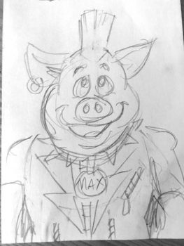 Mike's Pig Art