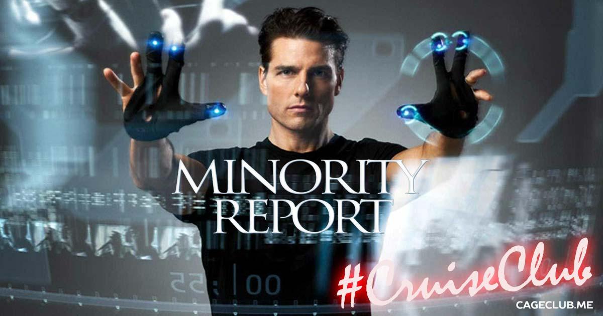 #CruiseClub #024 – Minority Report (2002)