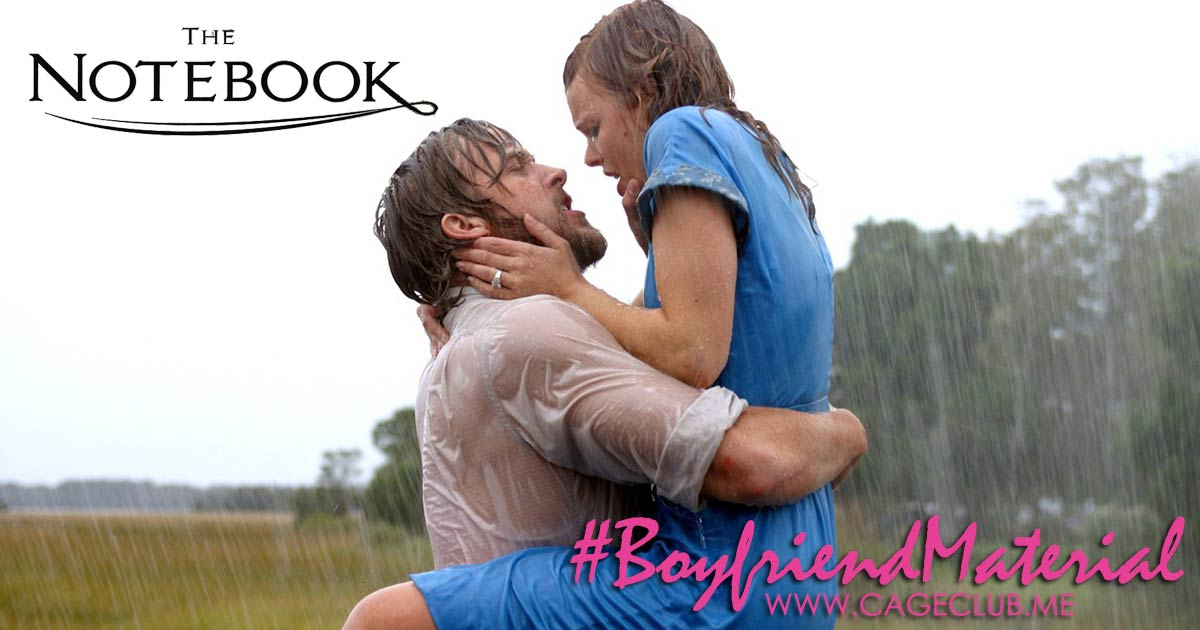 #BoyfriendMaterial #020 – The Notebook (2004)