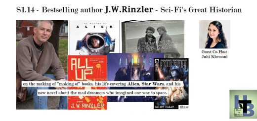 Hard to Believe #014 – Author JW Rinzler