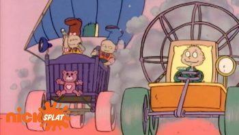 Rugrats' Mad Max Scene