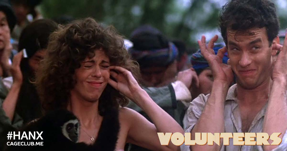 Volunteers (1985) - #HANX for the Memories #009